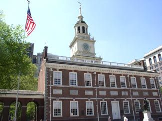 Philadelphia  Independence Hall.  Awesome and Awe Inspiring!