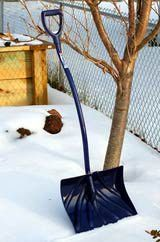 Snow Removal Equipment: Choices for Homeowners: Picture of ergonomic shovel.