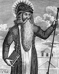 Childeric I, King of the Salian Franks.   http://goose.ycp.edu/~tgibson/RoyalAncestors/Charlemagne_files/williamthelion.jpg