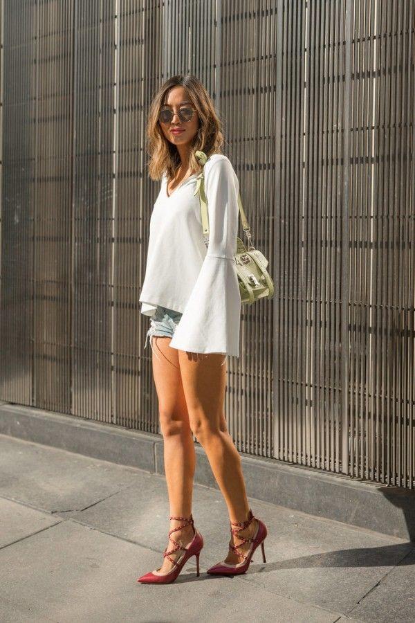 体型別☆スタイルアップになるデニムショートパンツの選び方 - ファッションスナップのSnapmee(スナップミー)