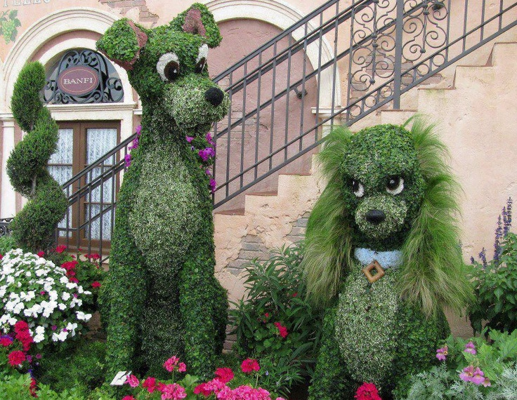 Disney Topiary Part - 33: Find This Pin And More On Disney Topiary :).