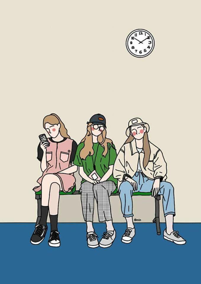 MINGUBANGU(kimmin6252)'s style | 오랜만에일러스트레이션♡ #그림#일러스트#덴스#덴스스튜디오#바나나#모델#여름#여름코디#반팔#반팔코디#일러스트레