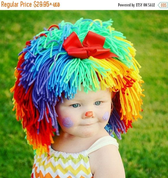 ON SALE Clown Costume Halloween Costumes Baby Hat Baby by YumbabY