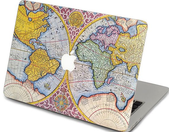 1000 images about mac ideas on pinterest stickers idaho and macbook world map pattern decal sticker cover for apple proairretina 11 12 13 15 17 gumiabroncs Choice Image