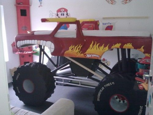 Monster Truck Bed   Google Search