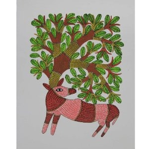 Indian culture and folk art, Gond paintings