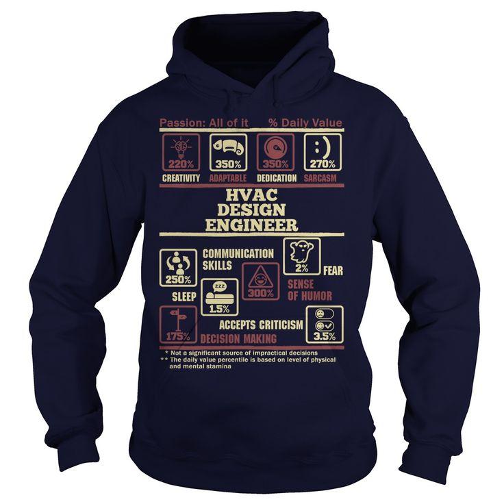 Mejores 12 imágenes de HVAC Project Engineer T-Shirts & Hoodies en ...