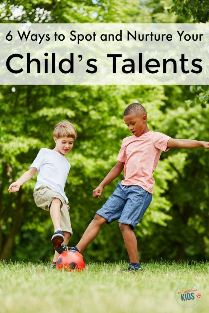 It's hard to know what role parents should play in helping identify kids talents. These six reminders will help you both spot and nurture your kid's talent.