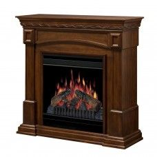 Burnish walnut 20 inch electric #spaceheater #fireplace, realistic character of the fireplace, fits into small spaces...keep cozy...