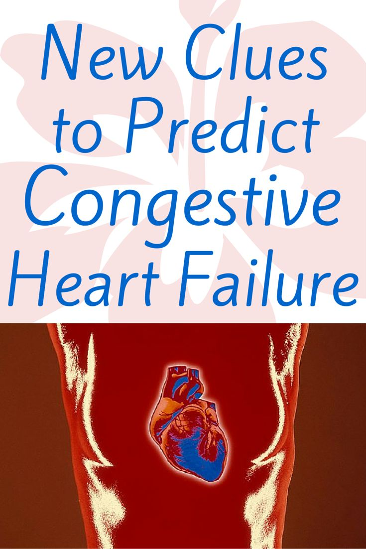 New Clues to Predict Congestive Heart Failure -   Extra heart beats known as PVCs are usually harmless, but they may predict heart failure, some researchers say. Read this. Now