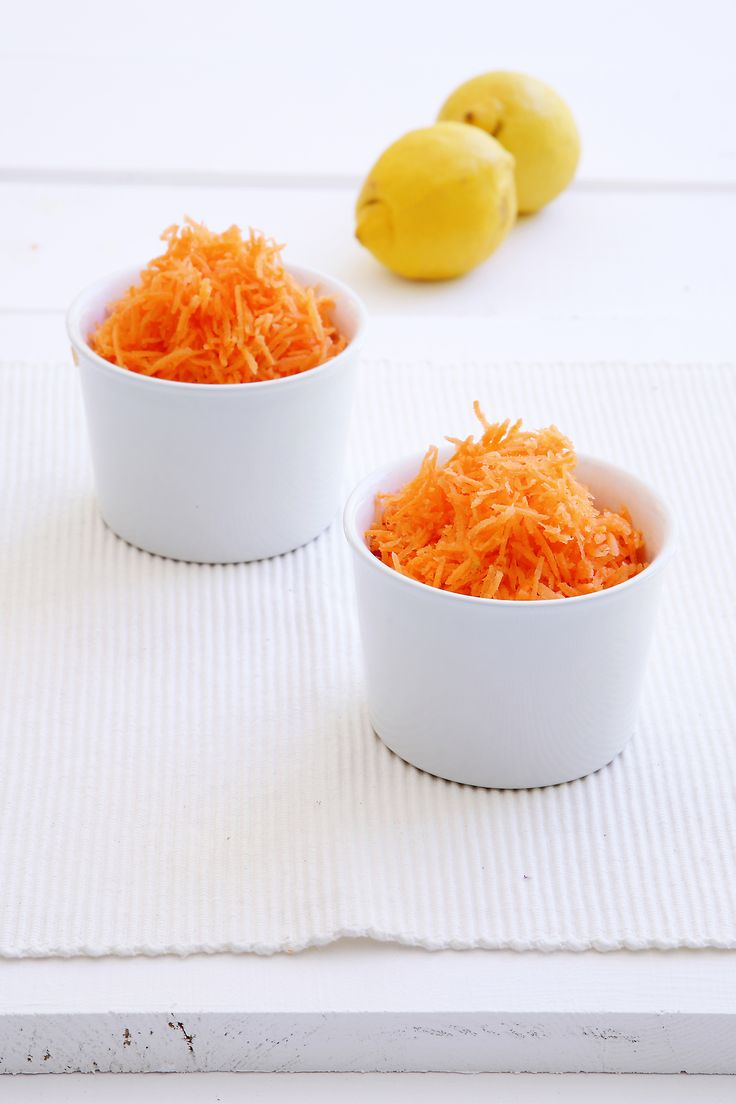 Carrot Salad - simple, yet super healthy. Served chilled! http://www.instyle.gr/recipe/salata-karotou/