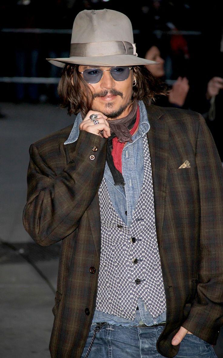 PRÊMIO DE ÍCONE FASHION  Johnny Depp