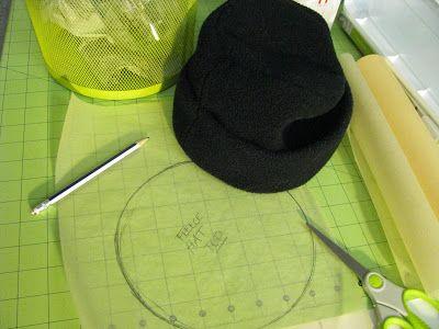 The 101 best Fleece Hats to Sew images on Pinterest | Fleece hat ...