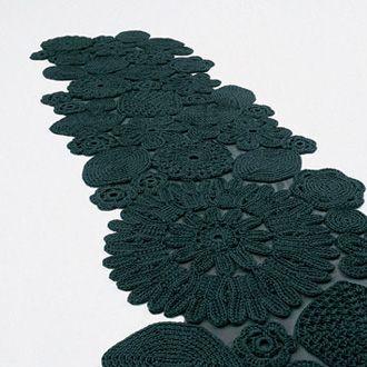 Patricia Urquiola and Eliana Gerotto Crochet Carpet