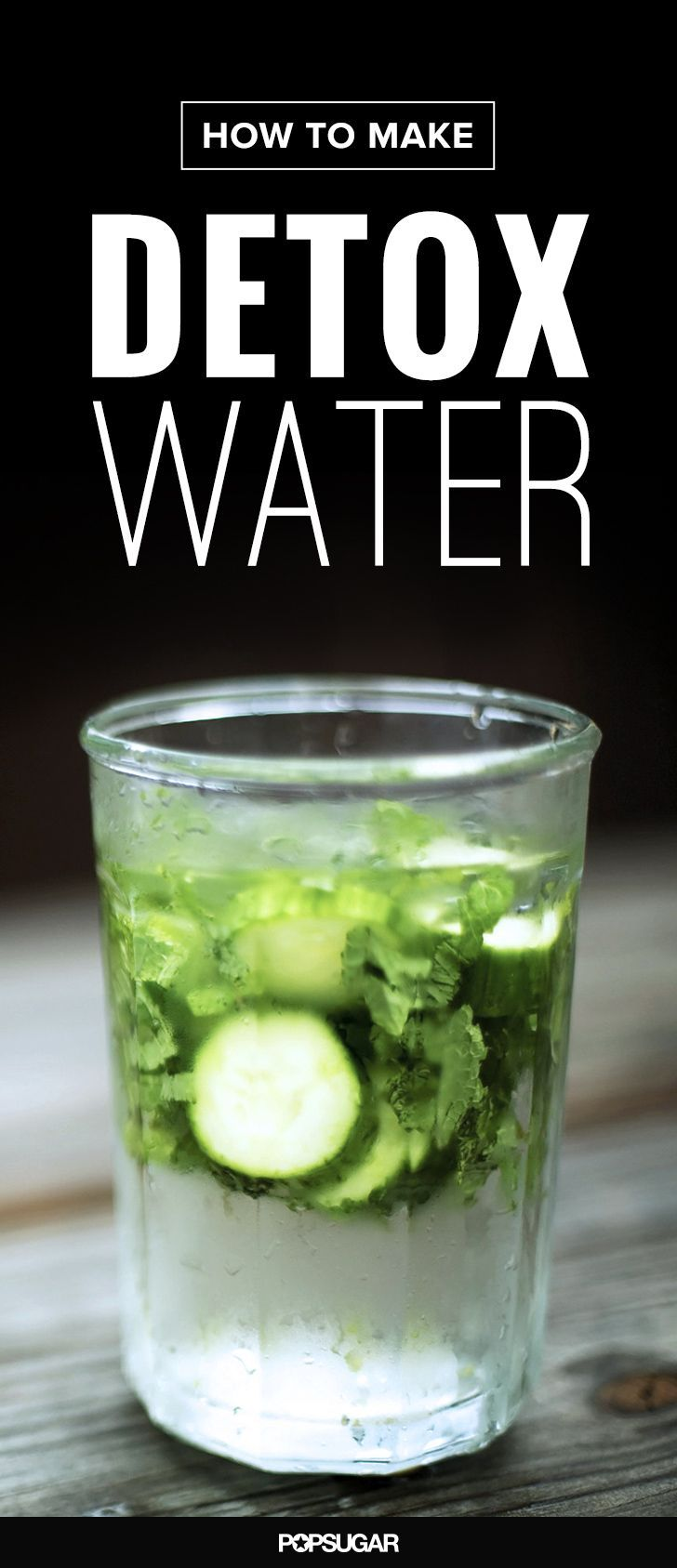 Add these fresh ingredients to your water for double the detox power!
