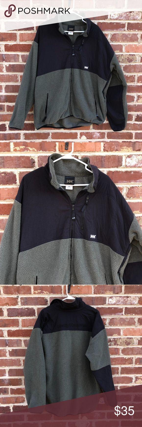 Helly Hansen Fleece Jacket XL Full Zip Coat --Size XL --Heavyweight fleece Helly Hansen Jackets & Coats