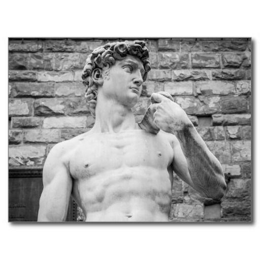 David (Michelangelo) Post Card - $0,93