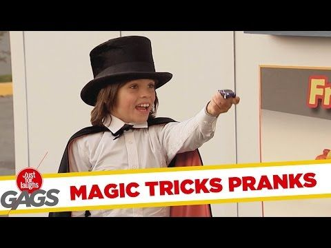 Best Magic Tricks Pranks - Best of Just for Laughs Gags - YouTube (11.36 min)