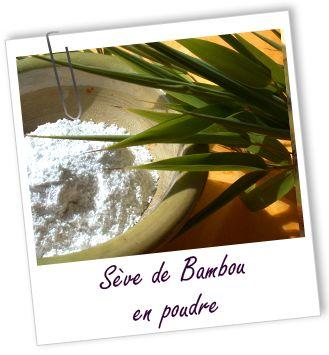 Poudre Sève de bambou Aroma-Zone