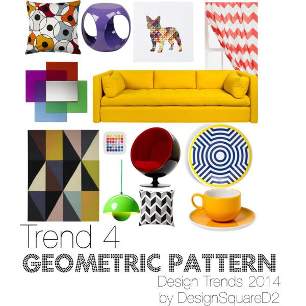 """Trend 4 Geometric Pattern"" by design2square on Polyvore"