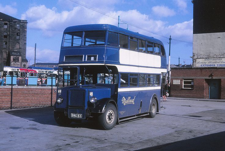 Alexander at Glasgow Dundas Street Bus Station on Glasgow Fair Holiday Monday 30 September 1968