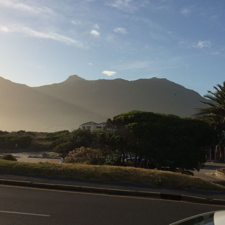 The mountains of Hout Bay