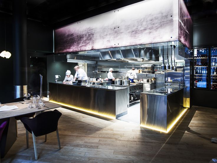 Finnjävel Restaurant Designed By Ateljé Sotamaa. Open Kitchen. Photo By  Kimmo Syväri. #