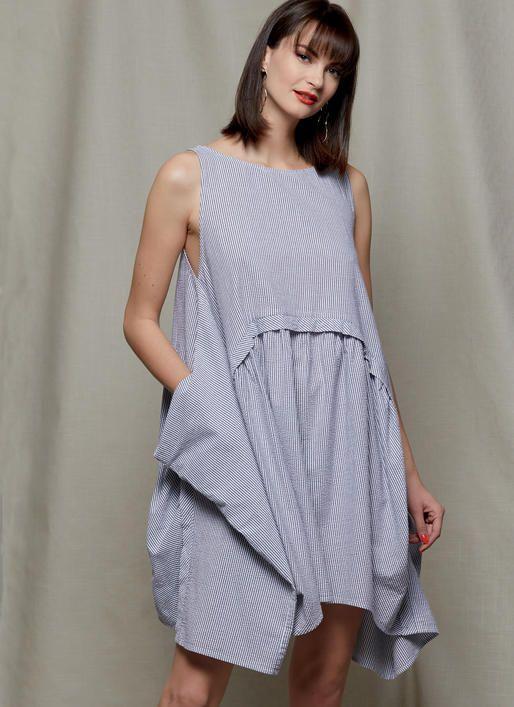 V1585 | Misses\' Dress Sewing Pattern | Vogue Patterns | modern ...