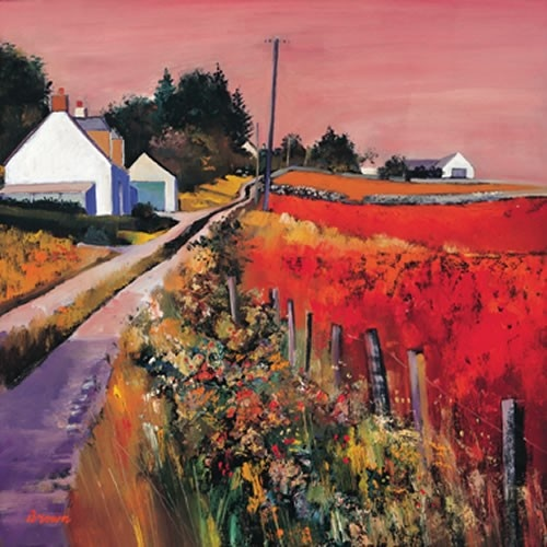 Art Prints Gallery - Farm Tracks (Limited Edition), £139.00 (http://www.artprintsgallery.co.uk/Davy-Brown/Farm-Tracks-Limited-Edition.html)