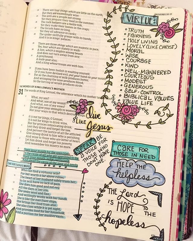 Proverbs 31 More time with the Lord as I pray about being virtuous.