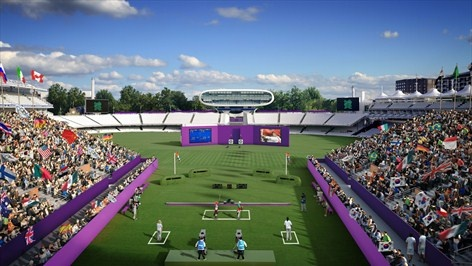 Lord's Cricket Ground - Archery Venue for London 2012 Olympic Games