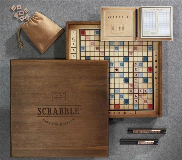 Vintage Edition Scrabble -