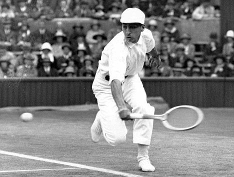 """Jean René Lacoste (1904 - 1996) was a French tennis player & businessman. He was nicknamed """"the Crocodile"""" by fans because of his tenacity on the court; he is also known worldwide as the creator of the Lacoste tennis shirt, which he introduced in 1929. He won seven Grand Slam singles titles in the French, American, & British championships. He was the World No. 1 player for both 1926 & 1927. Wimbledon: Singles champion: 1925, 1928, Singles finalist: 1924, Doubles champion: 1925"""