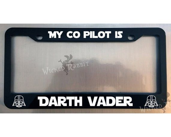 Black License Frame My Other Ride Is The Firefly Serenity