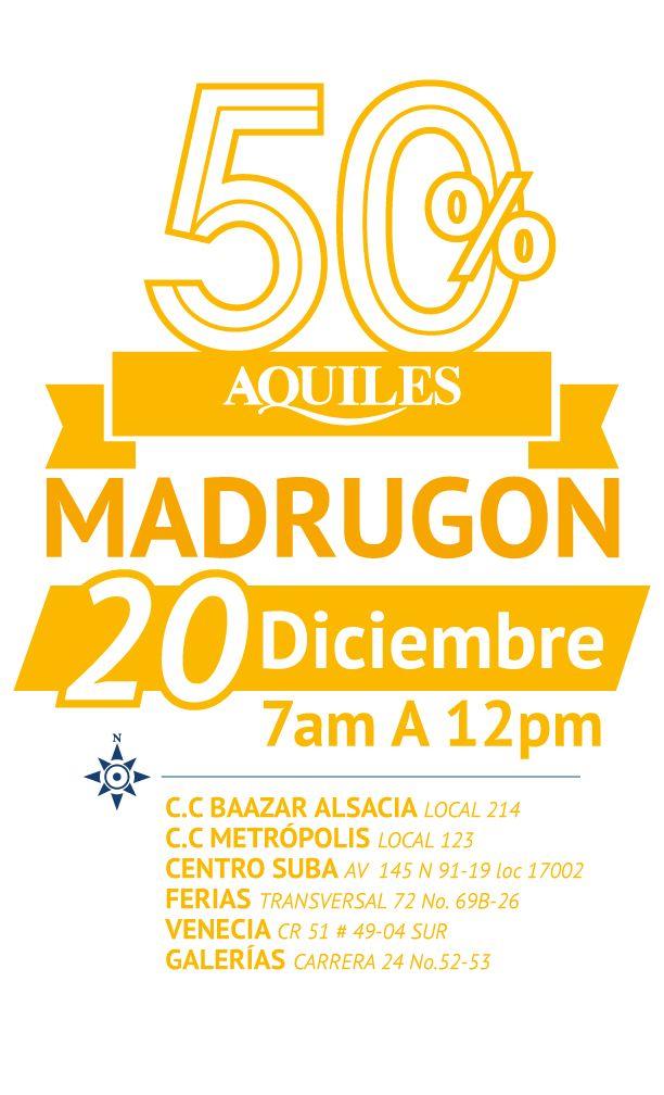 Madrugón 20 de Diciembre 2014 Bogotá.