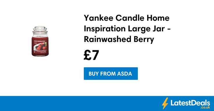 Yankee Candle Home Inspiration Large Jar - Rainwashed Berry, £7 at ASDA