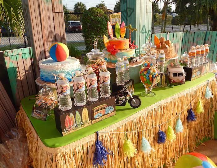imágenes de beach themed party uk