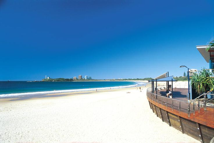 Mooloolaba Beach, Sunshine Coast, Queensland, Australia.