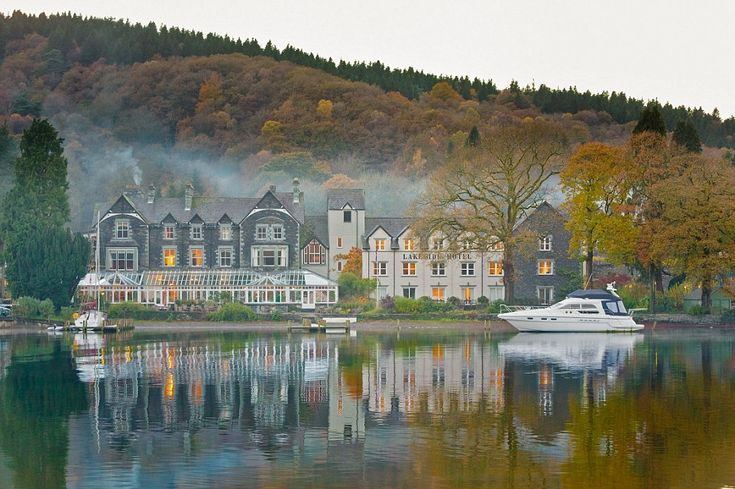 Waterfront luxury: The Lakeside Hotel and Spa enjoys a spectacular position right next to Lake Windermere in the heart of the Lake District