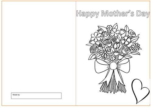 80 best Events Mothers Day images on Pinterest Learning - mothers day card template
