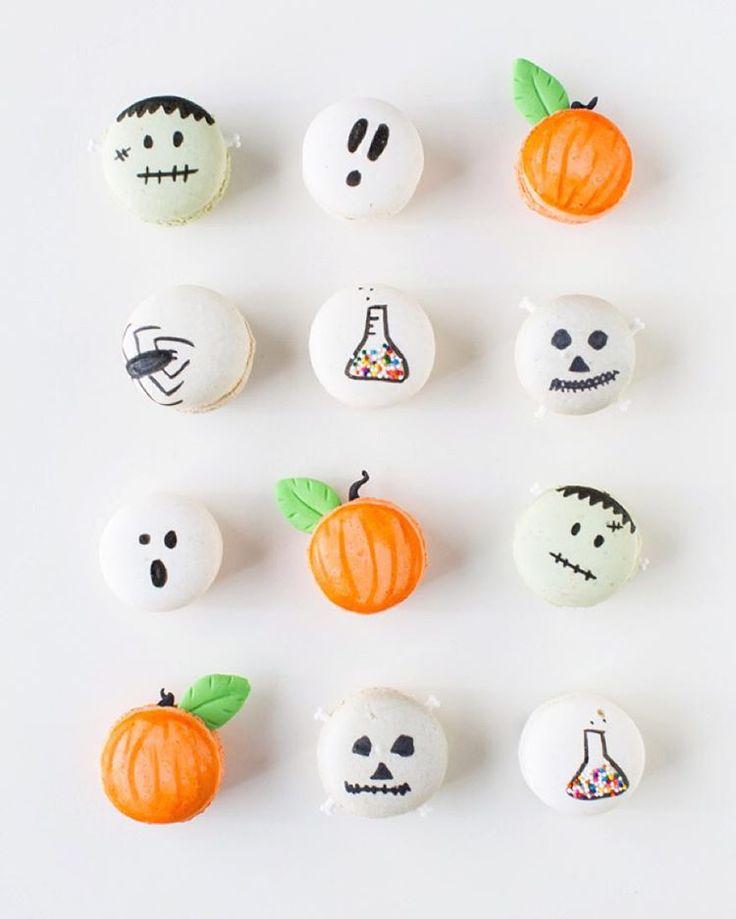 coach discount purses Halloween Macarons