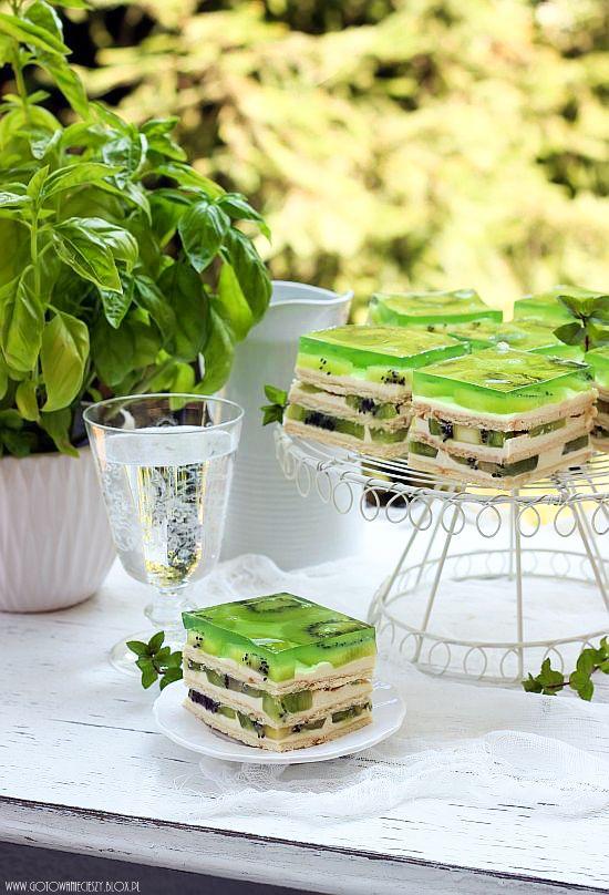 Kiwi Cake / Ciasto z kiwi