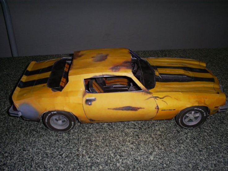 10 Best Bumblebee 1976 Camaro Images On Pinterest Papercraft