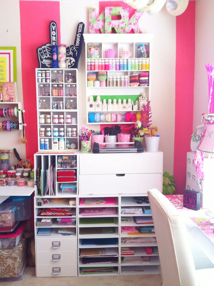 My fairy tale craft room.