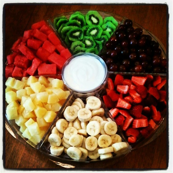 Fruit platter - Princess jewels with blizzard dip (do like a cream cheese dip )