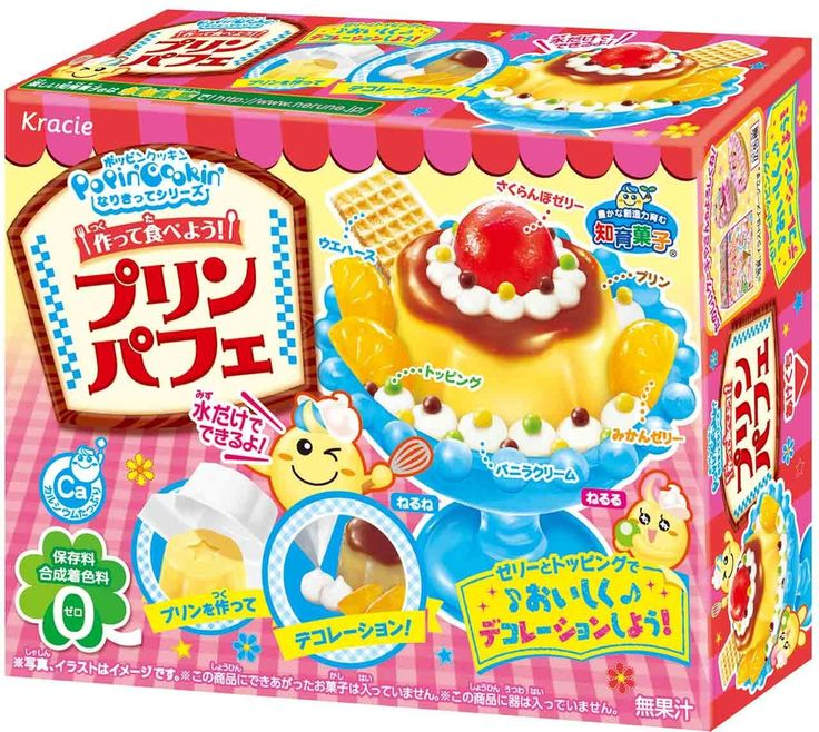 Kracie Popin' Cookin' kit Pudding Flan Parfait x 2 BOX ( DIY candy ) *** Unbelievable  item right here!