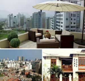 Places to Stay in Lima, Peru:  Hotels, Apartments, Bed & Breakfasts, Guesthouses, Homestays, Inns, Holiday Homes and Hostels