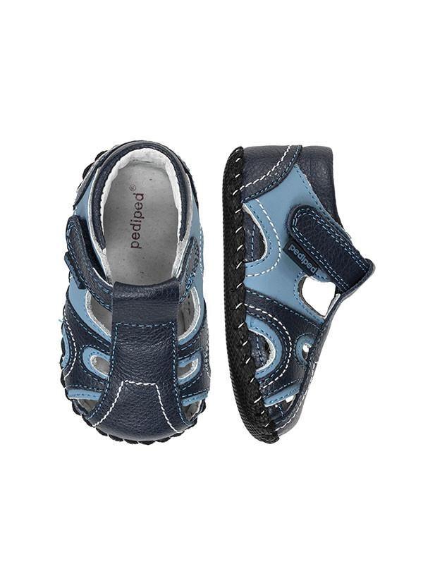 Brody Navy Light Blue Sandal