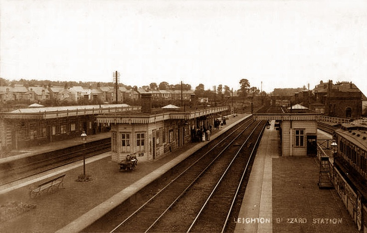 Bedfordshire,Leighton Buzzard Railway Station