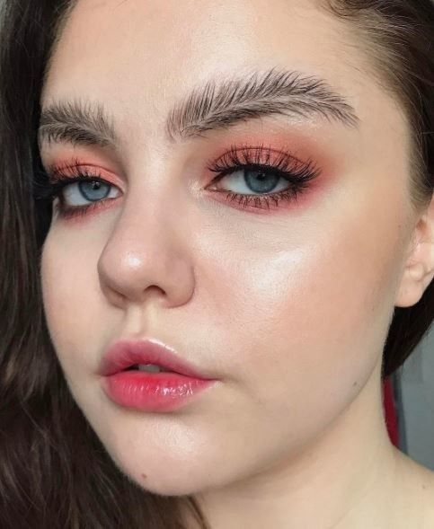 The new feathered brow just arrived and it's breaking the internet: New in brows. | lol oh hell no